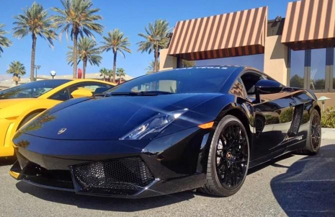 Lamborghini Gallardo at Italian Sports Car Day 2013, Las Vegas, NV.