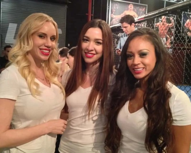 UFC Octagon Girls, Las Vegas, NV