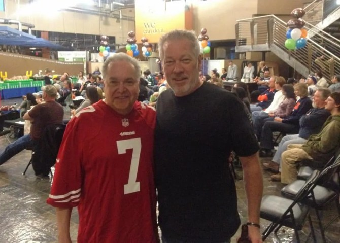 SuperBowl XLVIII Party - Billy Aguilera and A.D. Cook, Las Vegas, NV 2014
