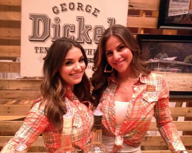 WhiskeyFest 2014 - George Dickel Ladies, Las Vegas, NV