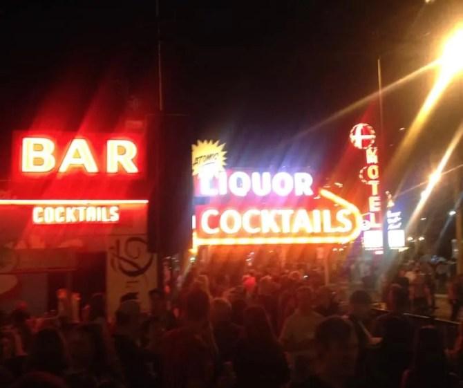 Life Cube at Atomic Liquors. Las Vegas, NV.