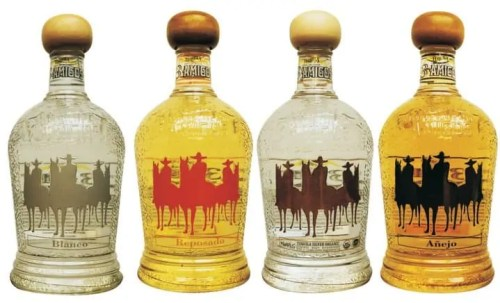 3 Amigos Tequila bottles