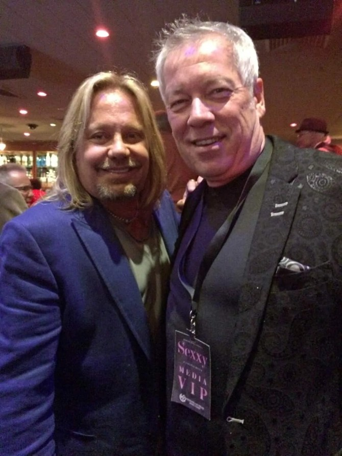 Sexxy Show Vince Neil and A.D. Cook, Las Vegas, NV
