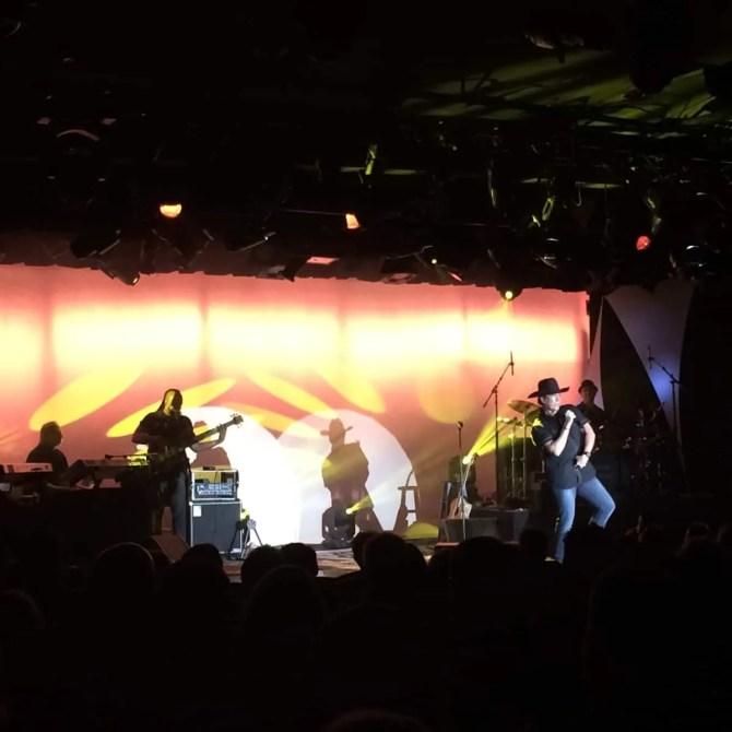 Gordie Brown on Stage, Golden Nugget, Las Vegas - 10/14/15
