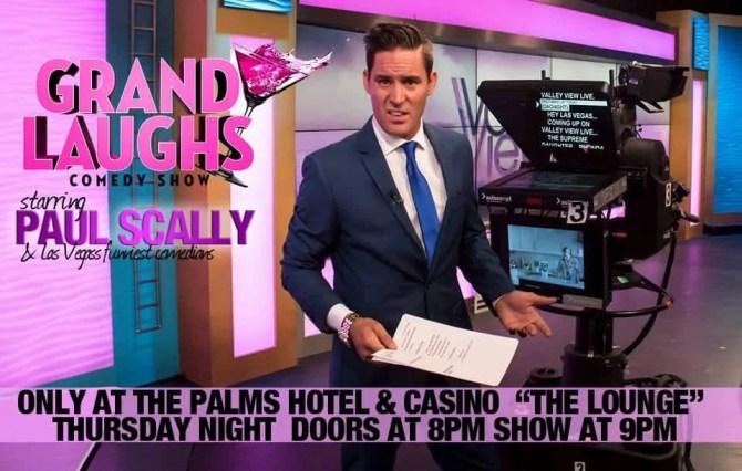 Paul Scally, Comedian, Las Vegas