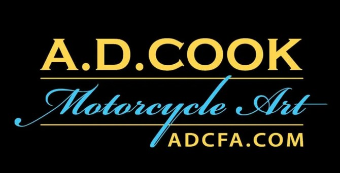 A.D. Cook Motorcycle Art