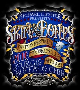 Skin & Bones - Tattoo Inspired Motorcycles and Art, Sturgis, SD