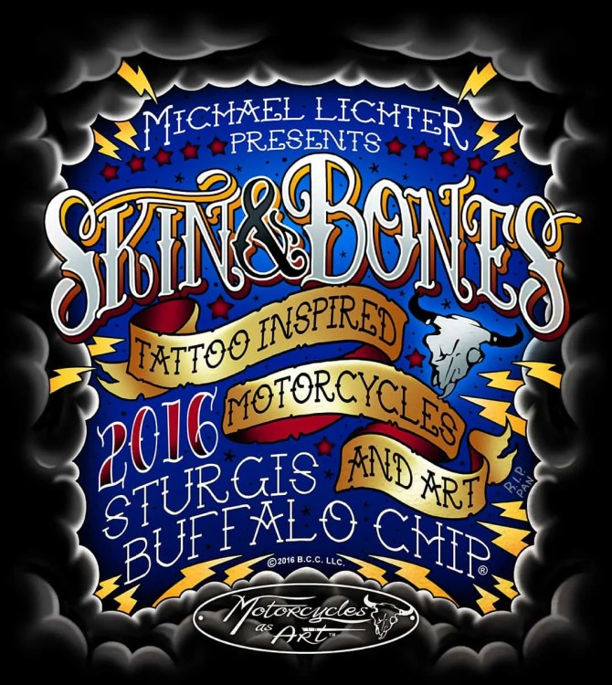 Skin & Bones - Tattoo Inspired Motorcycles and Art, Sturgis, SD