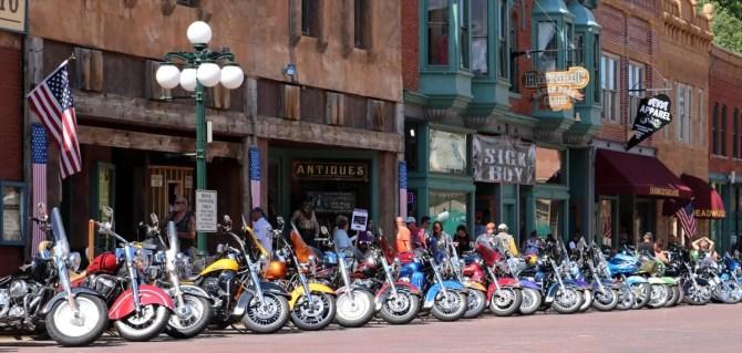 Sturgis 2016 - Motorcycles at Deadwood