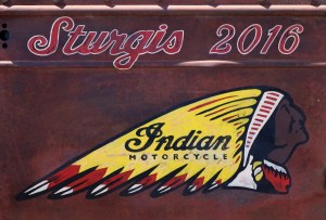 Indian Motorcycle at the Sturgis Motorcycle Rally 2016