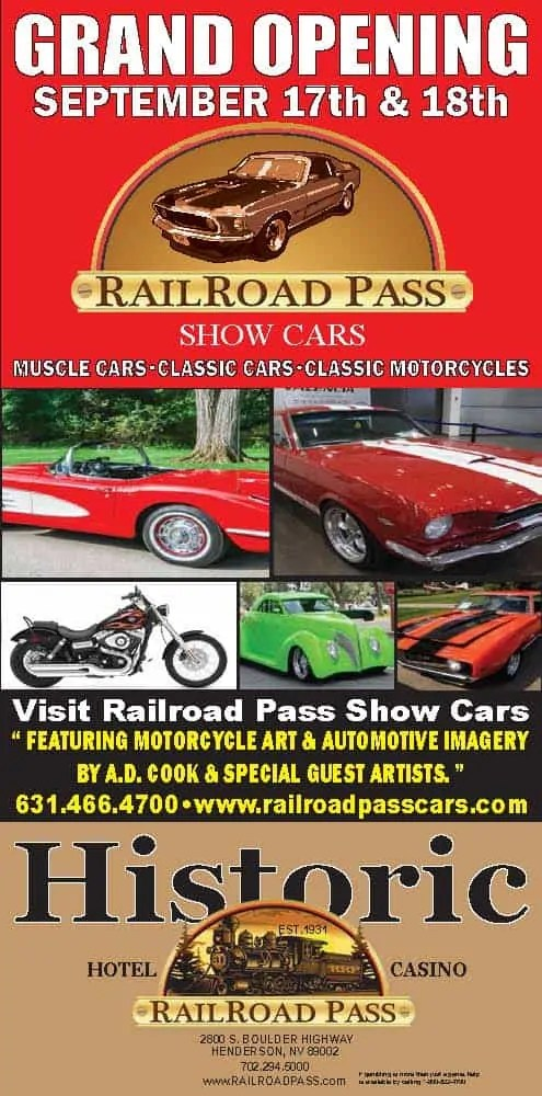 RailRoad Pass Show Cars Grand Opening 2016