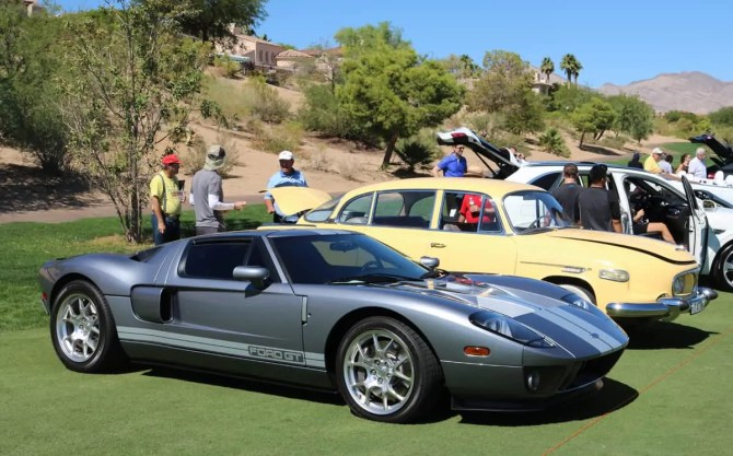 Ford GT at Red Rock Concours d'Elegance 2016