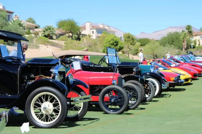 Classic Cars at Red Rock Country Club, Las Vegas, NV
