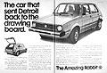 Classic VW Volkswagen Beetle Bus Ads