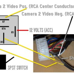 30a Relay Wiring Diagram Clio 2 Airbag Add 2nd Cam Or View Rear In Motion On Ogm 1 Audio