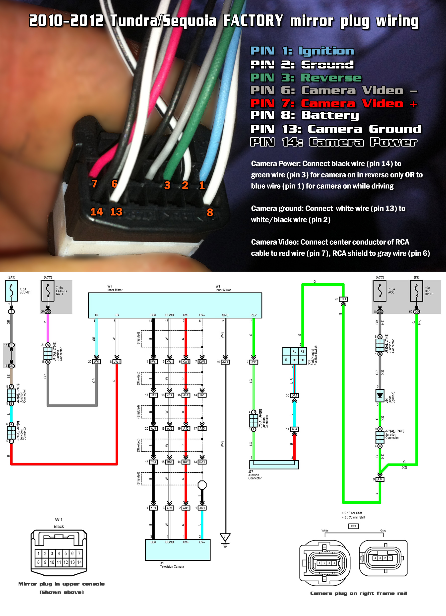 2016 toyota tundra radio wiring diagram vw golf mk5 abs prius backup camera get free image