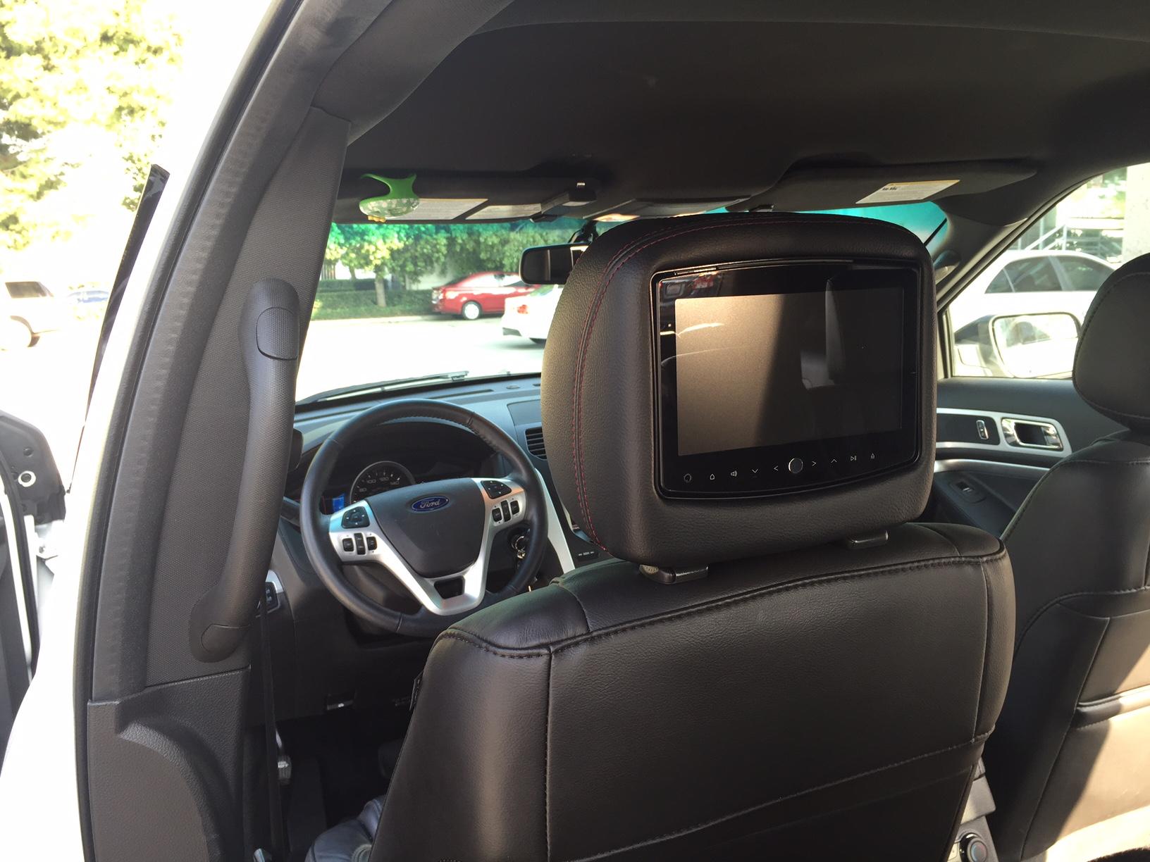 Rosen 8 Dual DVD Headrest System ADC Mobile