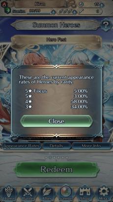Fire Emblem loot odds