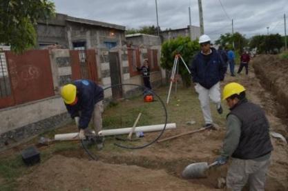 Trabajos en los barrios
