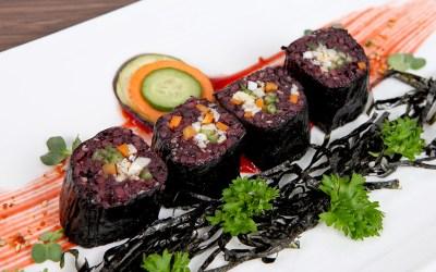 Kimbap rong biển