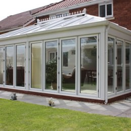 Conservatory with Bifold Doors