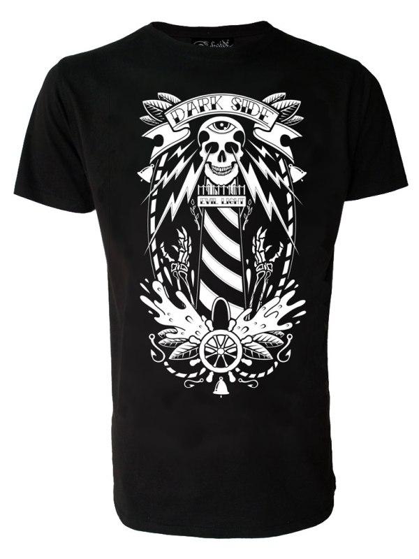 DARKSIDE - Lighthouse Skull T-shirt