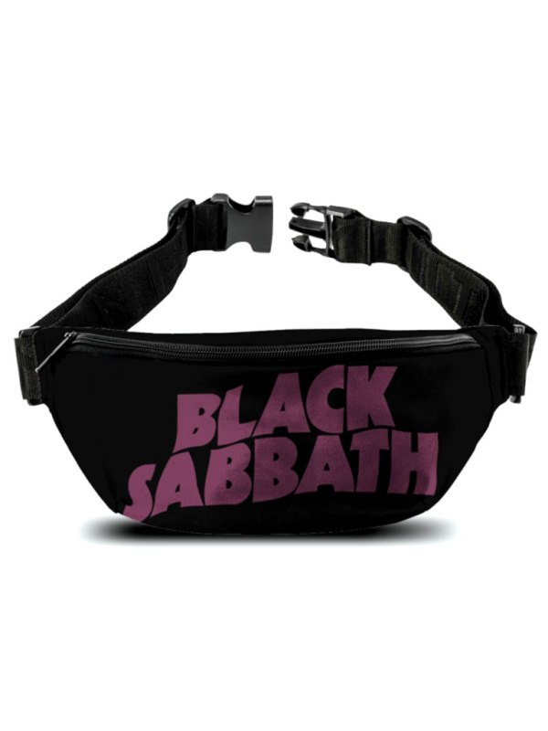 ROCKSAX - Black Sabbath - Logo Bum Bag