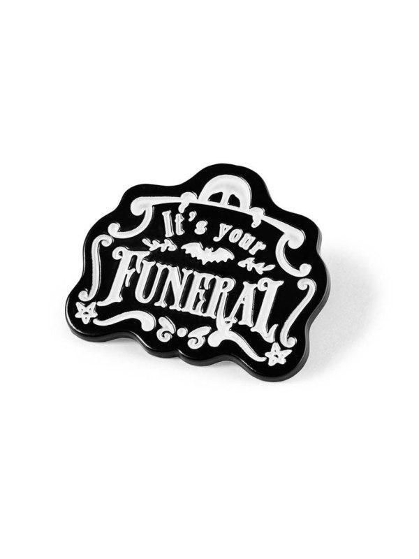 KILLSTAR - Funeral Pin