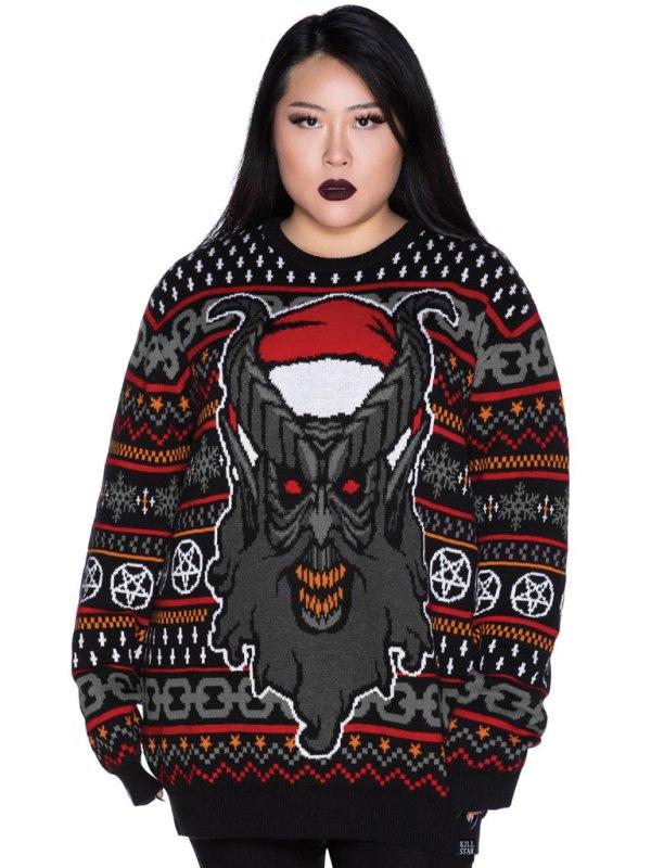 KILLSTAR - Hail Santa Knit Sweater [PLUS]