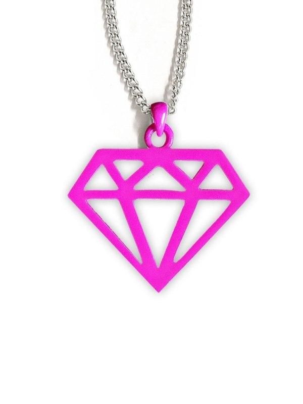 MB MÜLLER - Diamond Halsband Rosa