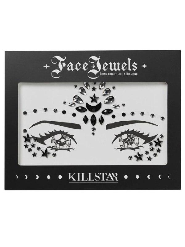 KILLSTAR - Moon Child Face Jewels Black