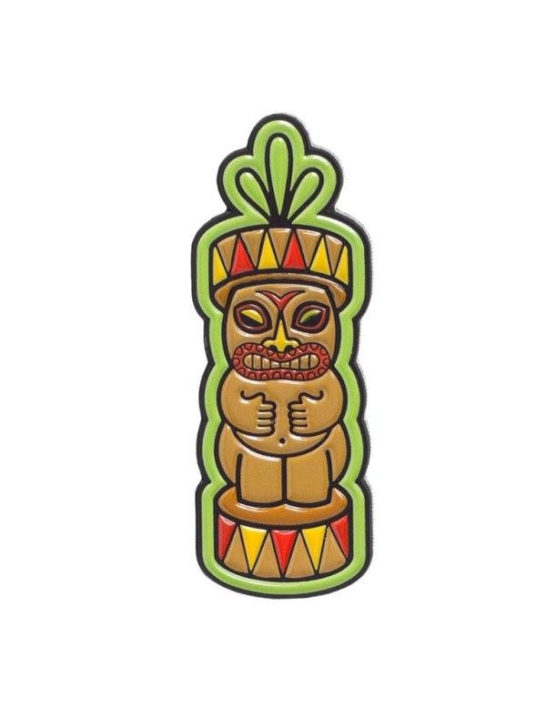 SOURPUSS - Tiki Totem Pin