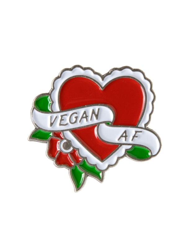 SOURPUSS - Vegan A.F Pin