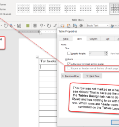 header rows in word tables help [ 1100 x 736 Pixel ]