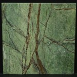 Rain Forest Green Leathered 12x12 Lot 41606 CU