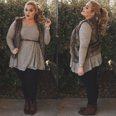 Casual And Comfy Plus Size Fall Outfits Ideas06
