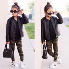 Cute Adorable Fall Outfits For Kids Ideas10