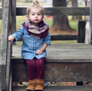 Cute Adorable Fall Outfits For Kids Ideas43