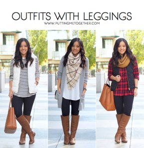 Cute Outfits Ideas With Leggings Suitable For Fall12