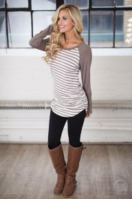 Cute Outfits Ideas With Leggings Suitable For Fall22