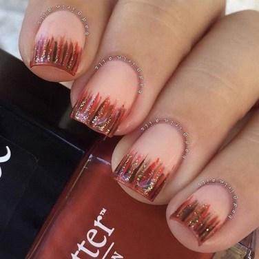 Eye Catching Fall Nails Art Design Inspirations Ideas31