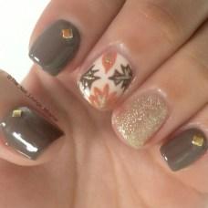 Eye Catching Fall Nails Art Design Inspirations Ideas44