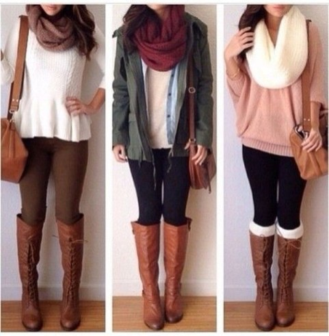 Charming Winter Outfits Ideas Teen Girl03