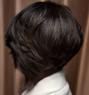 Cute Layered Bob Hairstyles Ideas31