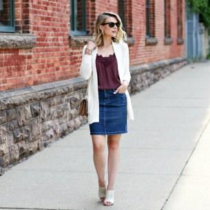 Fancy Winter Outfits Ideas Jean Skirts29