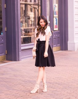 Fascinating Scalloped Clothing Ideas For Summer Outfits47
