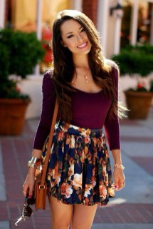 Incredible Skirt And Blouse This Fall Ideas01