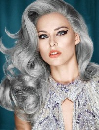 Pretty Grey Hairstyle Ideas For Women03
