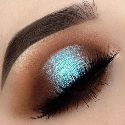 Stunning Shimmer Eye Makeup Ideas 201829