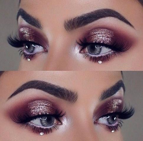Stunning Shimmer Eye Makeup Ideas 201838